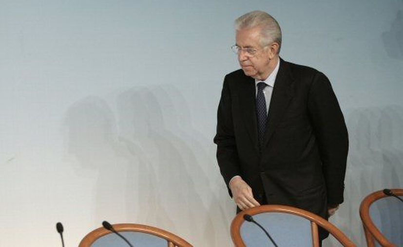 Monti asegura que su decisión es irrevocable. (Agencias)