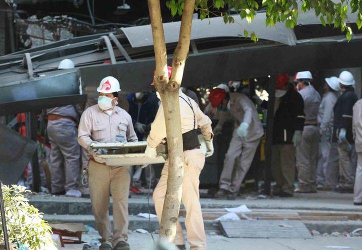 Las autoridades suspendieron la búsqueda de sobrevivientes. (Notimex)