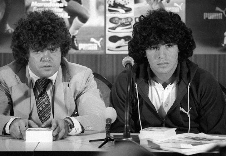 El Jorge Cyterszpiler alcanzó la fama por ser el primer agente de Maradona. (Intrafutbol)