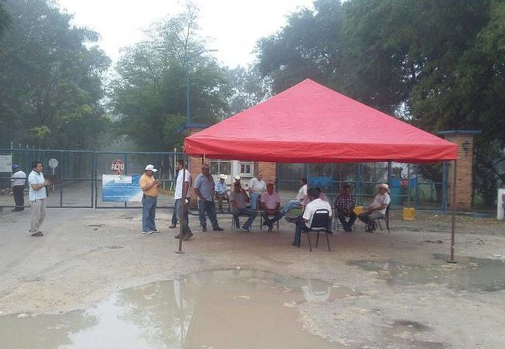 A partir de mañana los 250 obreros podrán ingresar a la empresa. (Edgardo Rodríguez/ SIPSE)