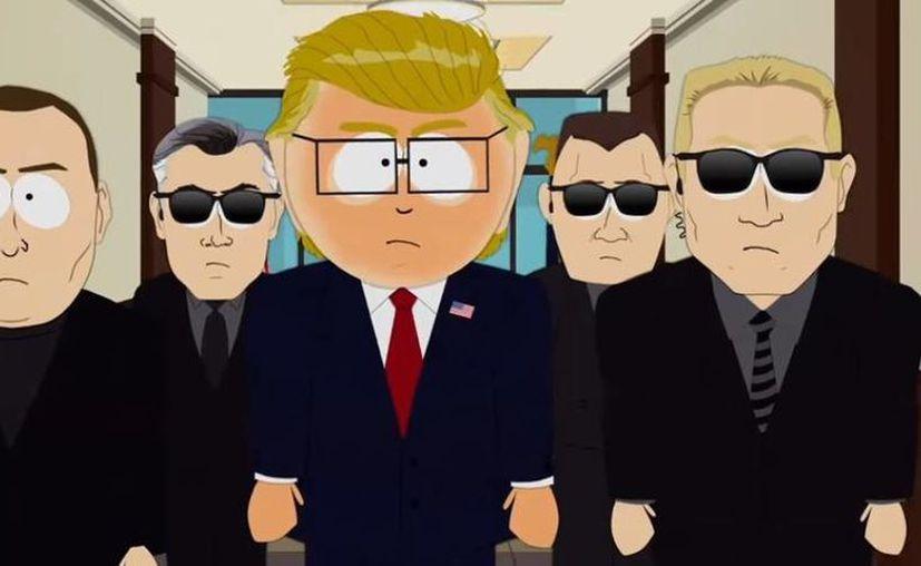 Donald Trump ya no saldrá más en la famosa serie 'South Park'. (Captura de pantalla/ Youtube)