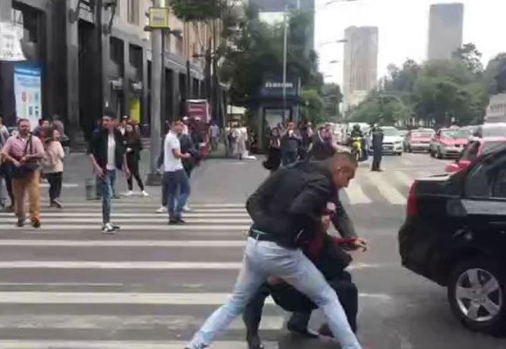 El 7 de julio se llevó a cabo el simulacro de un secuestro en la Ciudad de México. (Televisa)