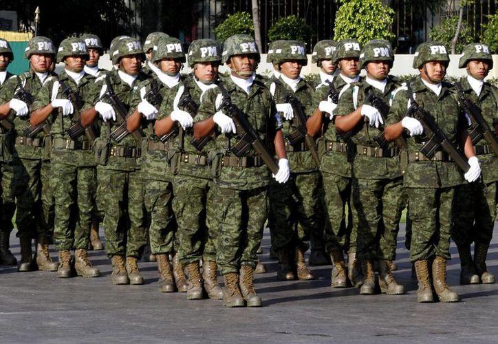 Señalan que la presencia de mandos militares en la entidad ha dado resultados. (Archivo/Notimex)
