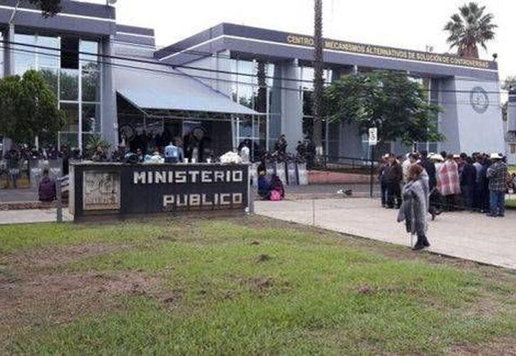 Los estudiantes quedaron libres bajo las reservas de ley. (Quadratín/Milenio)