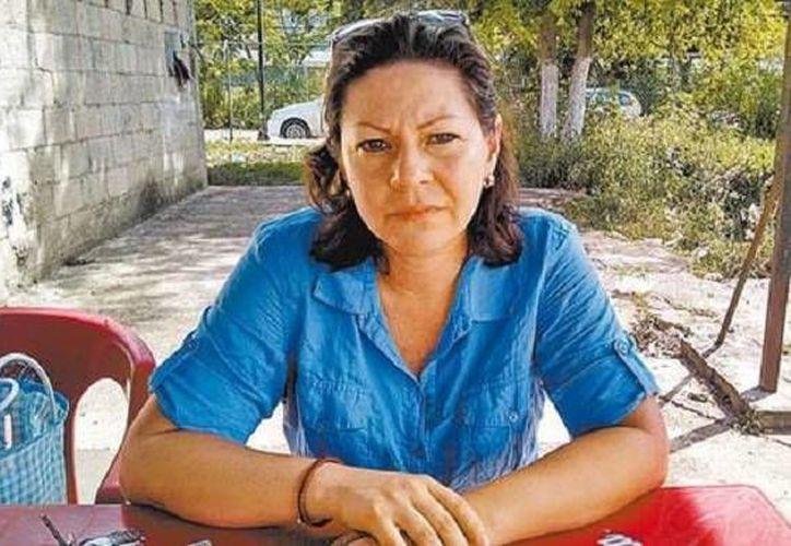 Karla Wilema Vivas, esposa de uno de los psiquiatras acusados de matar a un colega en Mérida. (milenio.com)