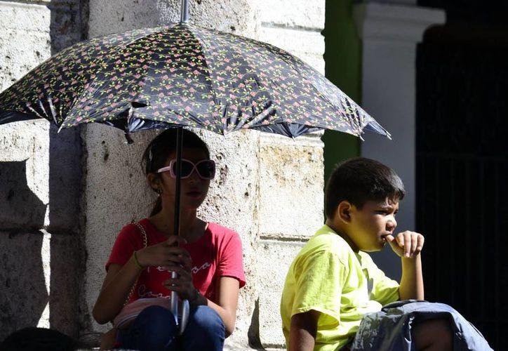 La temperatura máxima en Mérida registrada el domingo fue de 30.8 grados. (Milenio Novedades)