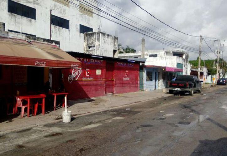 El bar Oasis es el segundo de este mes que fue atacado por sicarios. (Redacción)
