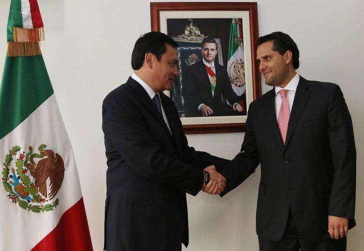 Guillermo Lerdo de Tejada Servitje es el nuevo Coordinador de Asesores de la Secretaría de Gobernación. (Notimex)