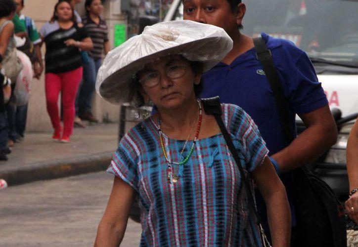 El fuerte calor se mantiene en Yucatán. (José Acosta/SIPSE)