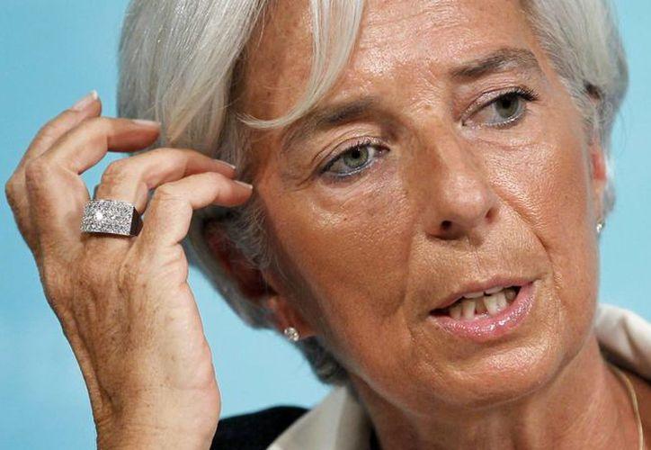 Christine Lagarde niega las acusaciones de negligencia en un fallo arbitral que emitió en 2008. (AP/Haraz N. Ghanbari)