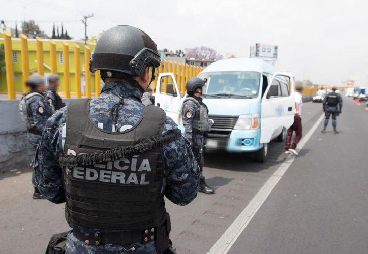 Permiten las revisiones externas y superficiales por parte de los policías. (Redacción/SIPSE)