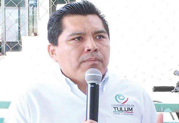 David Balam Chan fue presidente municipal de Tulum de 2013 a 2016, tiempo durante el cual se hizo de casas y terrenos. (Redacción/SIPSE)
