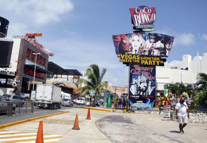 Hasta un 16% de incremento en sus ventas reflejó la discoteca Coco Bongo. (Sergio Orozco/SIPSE)