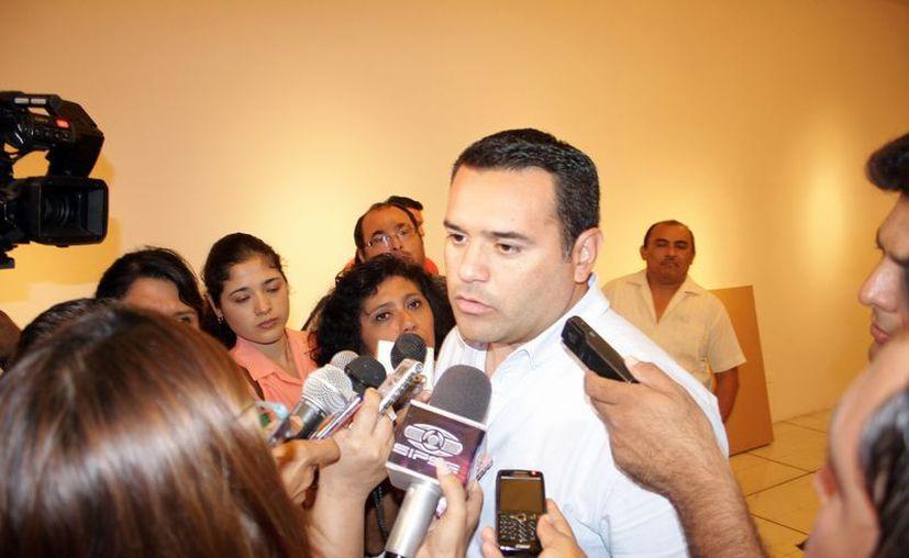 El alcalde de Mérida, Renán Barrera Concha. (Tehani Ruz/SIPSE)