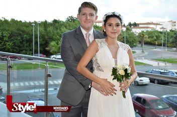 Unen sus vidas Michelle Segura y Carlos González