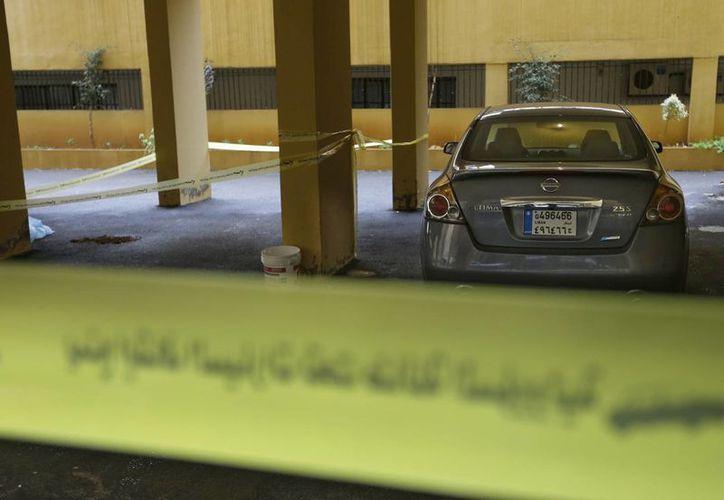 Las autoridades cerraron el paso donde fue asesinado Hussein al-Laqis. (Agencias)