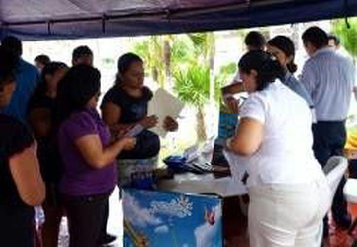 La jornada de empleo dará inicio mañana a las 9 de la mañana en el Domo Verde en Isla Mujeres. (Redacción/SIPSE)