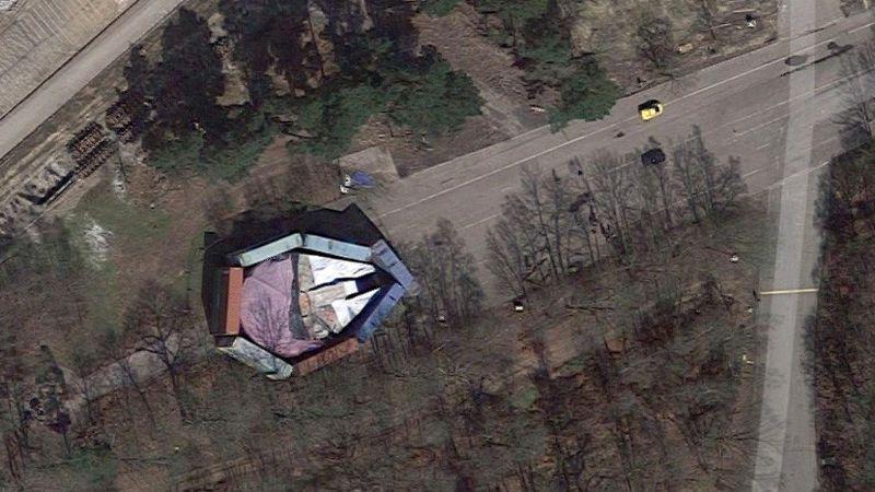 Encuentran el 'Halcón Milenario' gracias a Google Maps