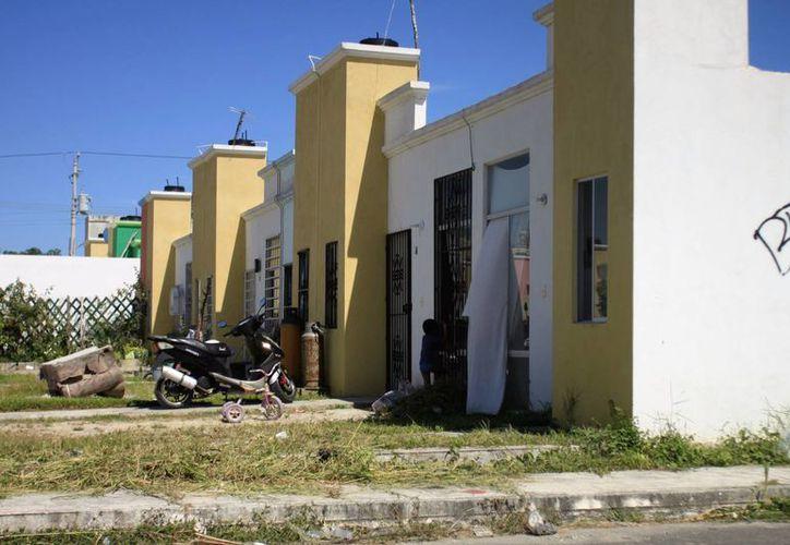 Un 70% de créditos de viviendas entregados en años anteriores están abandonadas. (Carlos Horta/SIPSE)