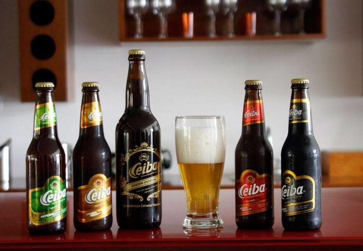 Ceiba es una de las marca que de cerveza artesanal que nacieron en Yucatán en los últimos años. Buscan recuperar  una tradición que por muchos años mantuvo la empresa Cervecería Yucatán, la cual cerró en 2002. (Christian Ayala/SIPSE)
