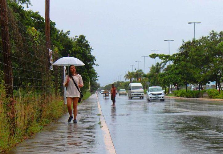 De acuerdo con el pronóstico del clima, el fin de semana será fresco y lluvioso. (Daniel Pacheco/SIPSE)