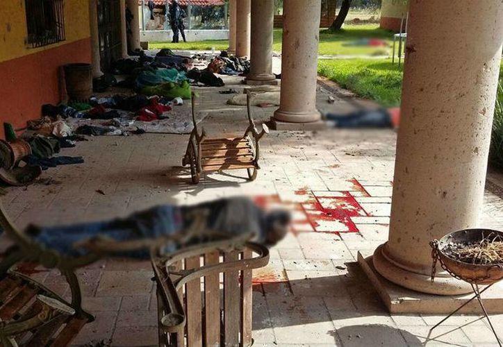 El enfrentamiento entre la Polocía Federal y presuntos integrantes del Cártel Jalisco Nueva Generación se registró el 22 de mayo del 2015. (Archivo/AP)
