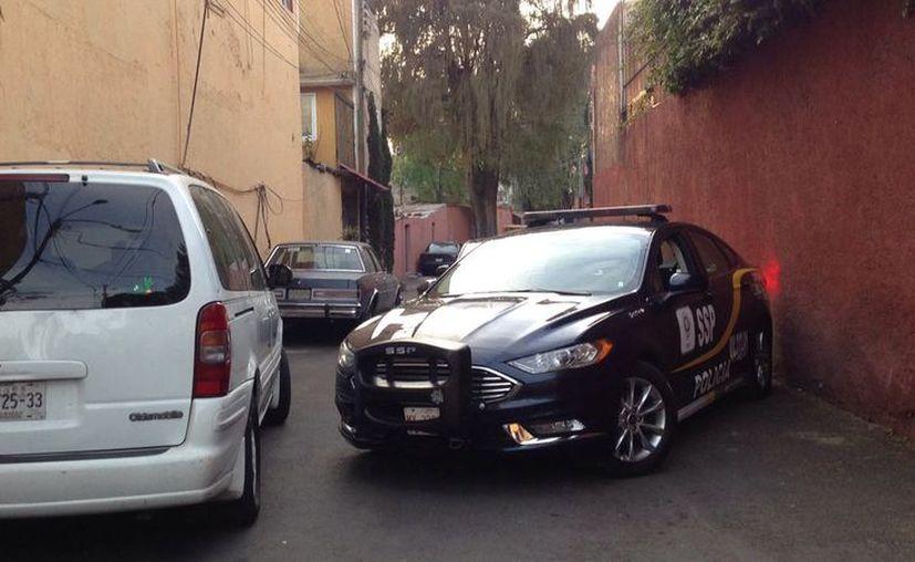 El asalto se dio en la calle Real de los Reyes, en la delegación de Coyoacán. (Foto: Twitter/Foro TV)