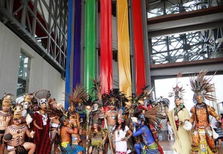 La Feria Internacional de la Cultura Maya abrió sus puertas este 17 de octubre. (SIPSE)