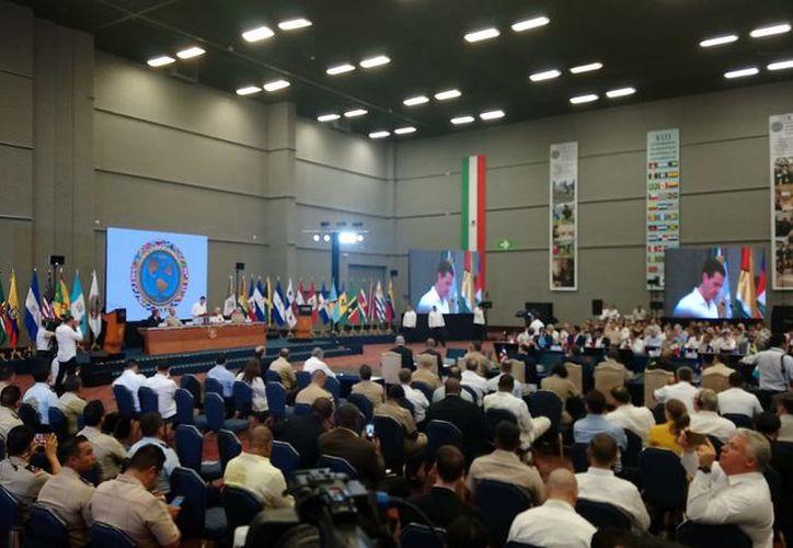 Participan 34 países en la XIII Conferencia de Ministros de Defensa de las Américas. (Eric Galindo/SIPSE)