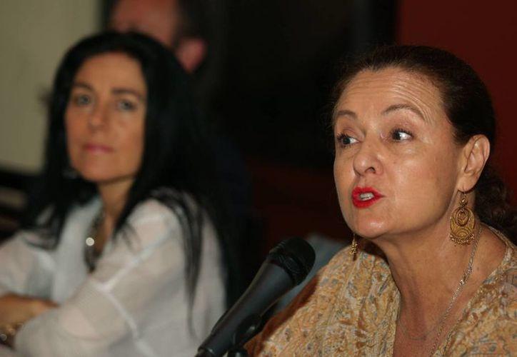 Investigaciones físicas e históricas  confirman en un 99 % que restos hallados son de Sor Juana Inés de la Cruz, declaró la rectora de la Universidad del Claustro de Sor Juana (UCSJ), Carmen López-Portillo Roman. (Notimex)