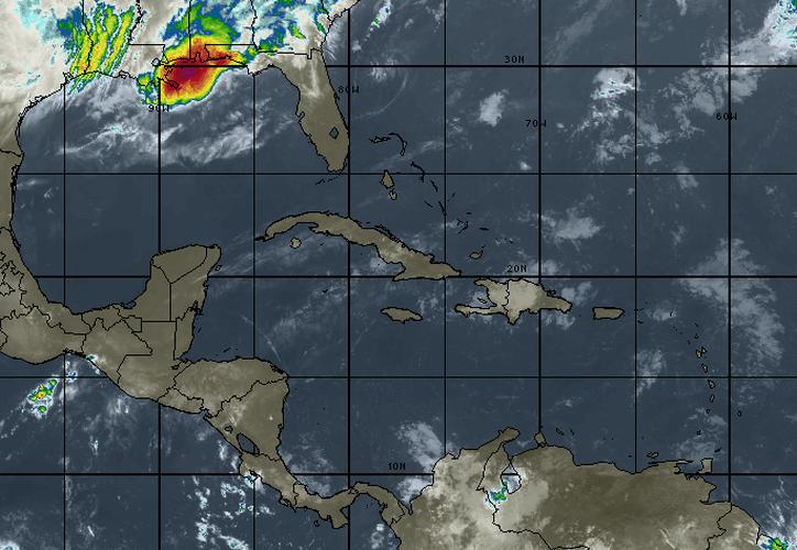 Se espera que la temperatura máxima alcance los 29 grados en Cancún. (Intellicast)