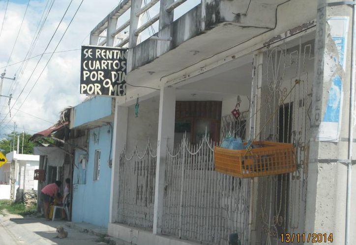 Diferentes domicilios particulares ofrecen hospedaje en Bacalar. (Javier Ortiz/SIPSE)