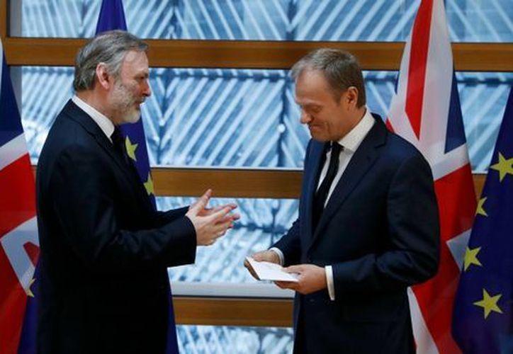 Buscan concretar el Brexit bajo los términos del Artículo 50 del Tratado de Lisboa. (RT)