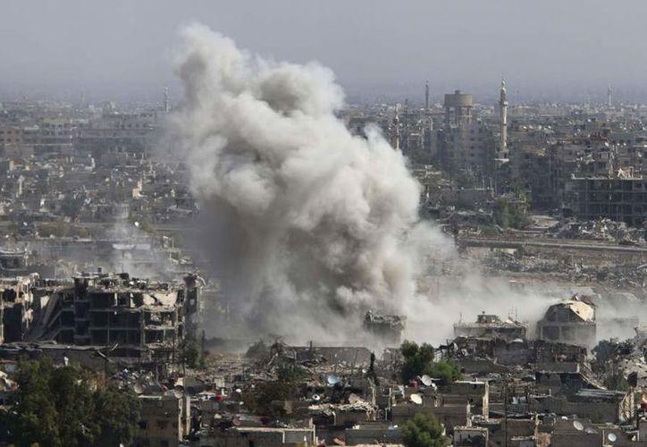 El ataque de EU al Estado Islámico ha causado numerosas víctimas entre la población civil. (Internet/Contexto)