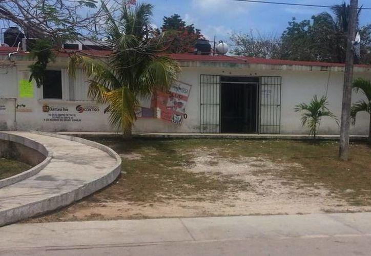 La Unidad de Salud de Leona Vicario será  rehabilitada con recursos federales. (Cortesía)