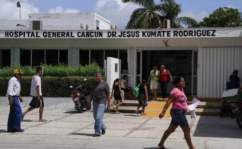 Hospital General recibe cada bimestre alrededor de 300 mil pesos para los gastos generales. (Tomás Álvarez/SIPSE)