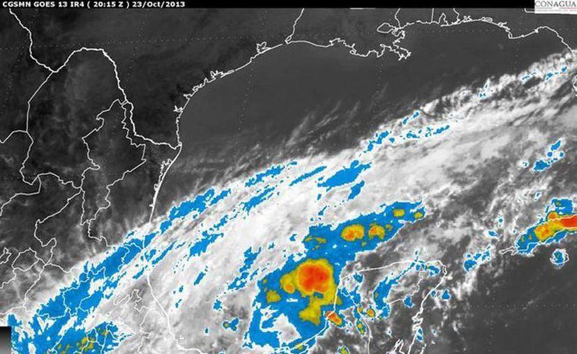 Se pronostican lluvias muy fuertes en Campeche, Yucatán, San Luis Potosí, Colima y Jalisco, entre otros. (smn.conagua.gob.mx)