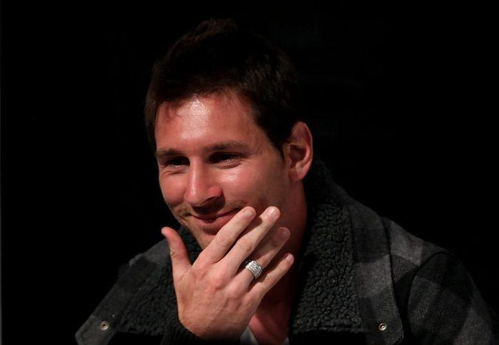 Messi continúa cosechando reconocimientos. (EFE)