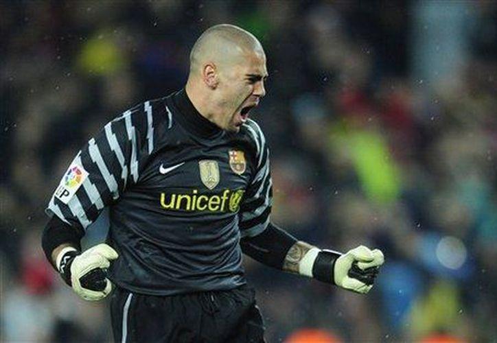 Víctor Valdés ha ganado todos los títulos nacionales y mundiales con el Barcelona. (Agencias)