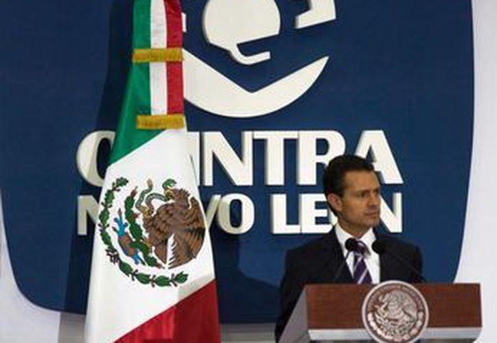 Peña Nieto celebró los acuerdos comerciales que recientemente suscribió México con Panamá y países de la Alianza del Pacífico. (Presidencia)