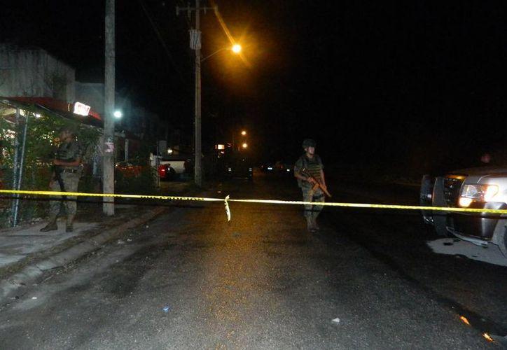 La detención se realizó en un domicilio de la Región 259. (Eric Galindo/SIPSE)