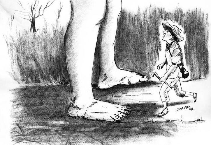 Manuel describió al alux con el cuerpo de una persona normal, pero de tamaño muy pequeño. (Jorge Moreno/SIPSE)