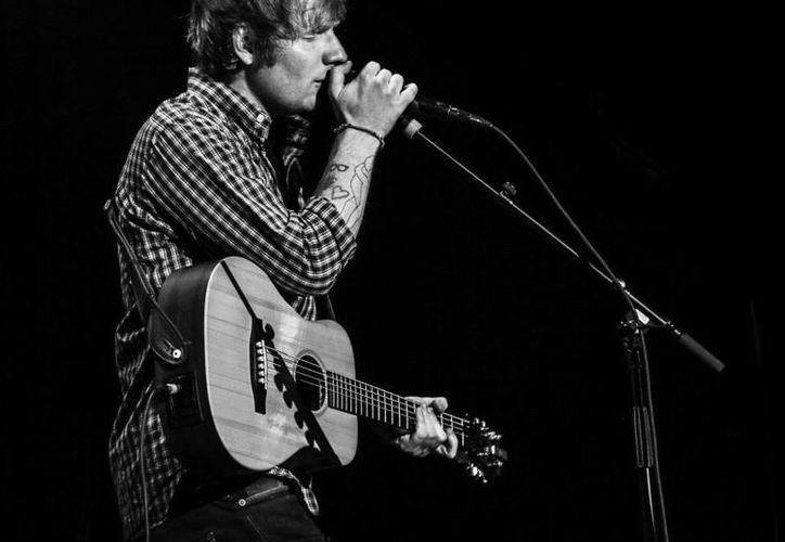 Ed Sheeran se presentará el 10 de junio en el Palacio de los Deportes y días después lo hará en Guadalajara y Monterrey.(Foto tomada de Facebook/Ed Sheeran)