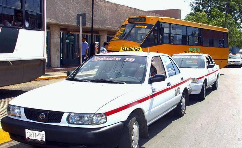 """El FUTV """"se moderniza"""" con nuevos servicios: taxis exclusivos para mujeres y para personas con discapacidad. (Archivo/SIPSE)"""