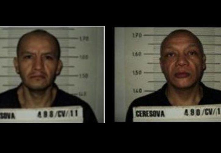 Agustín Miranda y Roberto Sánchez, los dos internos que se fugaron del Reclusorio Oriente. (Milenio)