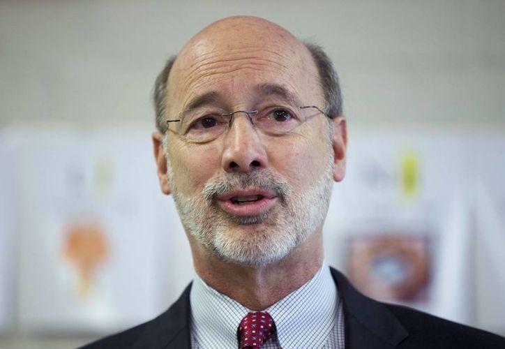 El gobernador de Pensilvania, el demócrata Tom Wolf, dijo que el sistema de la pena de muerte es defectuoso y amerita revisión exhaustiva. (AP)