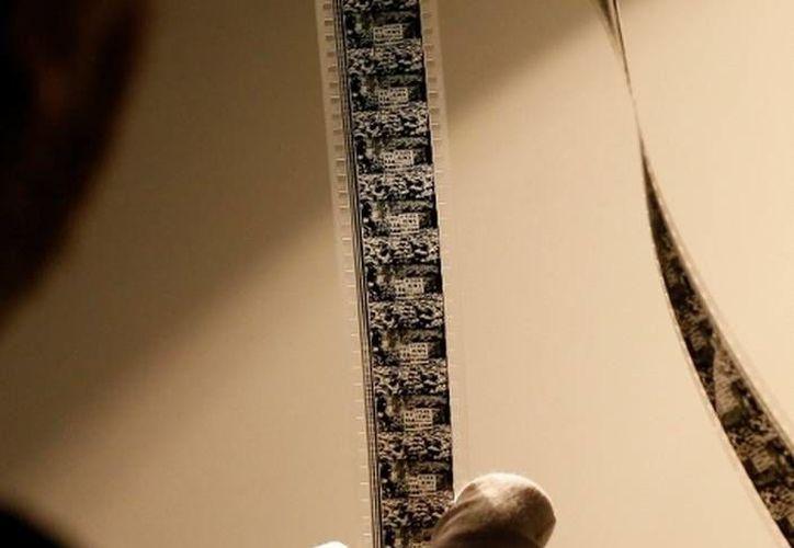Imágenes de la cinta encontrada en la 'Cinematheque Royale de Belgique' en Bruselas. (Agencias)