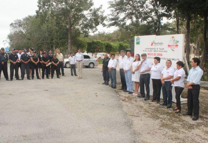 El alcalde dijo que la caseta se construye a la salida de la carretera que conduce a Felipe Carrillo Puerto. (Redacción/SIPSE)
