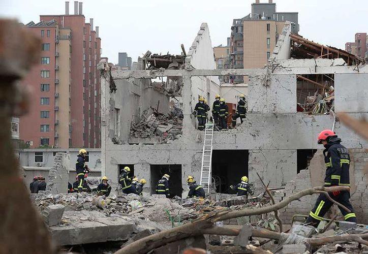 La explosión tuvo lugar en una zona industrial de China. (AP).