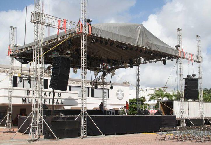 El teatro de la ciudad servirá como un medio de difusión cultural. (Octavio Martínez/SIPSE)